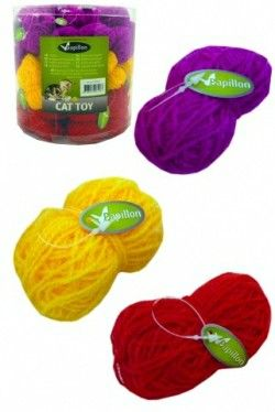 BALL OF WOOL IN TUBE 60 PCS